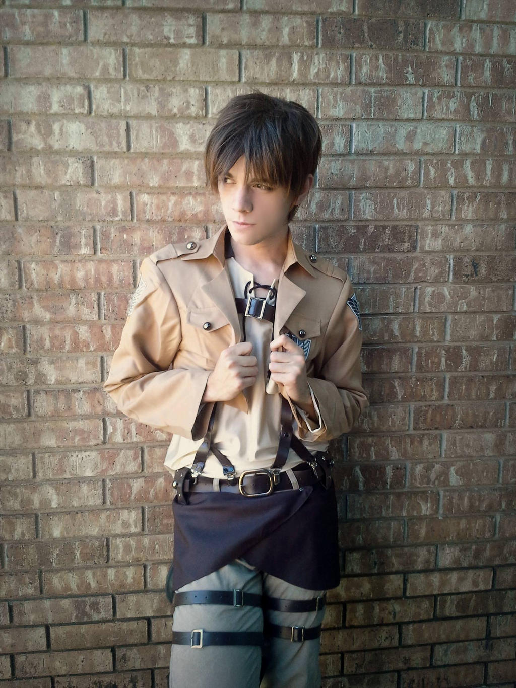 Eren Jaegar - Cosplay by NipahCos on DeviantArt