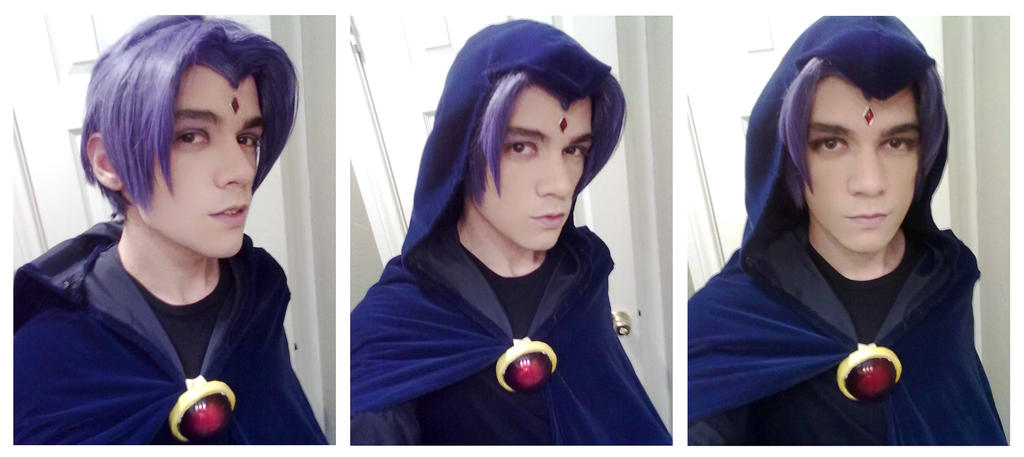 Male Raven - Teen Titans cosplay by NipahCos