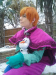 Snow day - Male Anna Cosplay