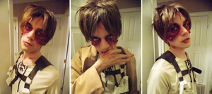 Eren Jaegar - Cosplay/Makeup (Post Titan)