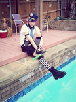 Male Cop Stocking - Cosplay