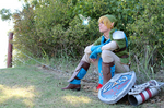Hyrule Warriors - Link Cosplay