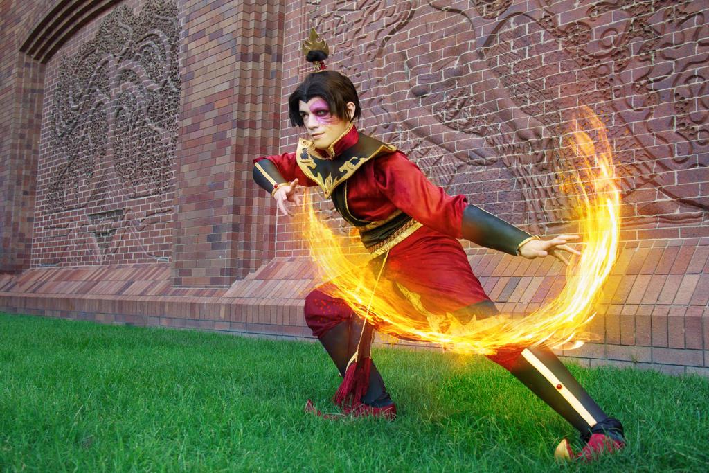 The Fire Prince Zuko - ATLA Cosplay by NipahCos