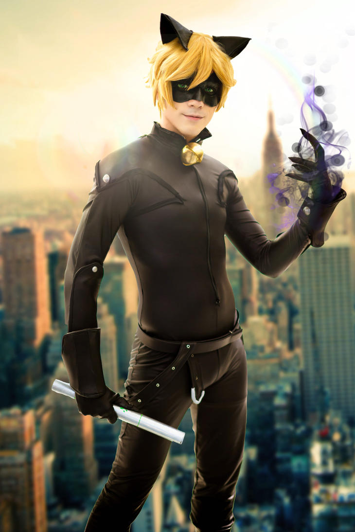 Chat Noir (Cosplay) - Miraculous Ladybug by NipahCos