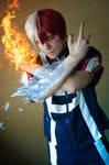 Icy Hot - Todoroki Cosplay (My Hero Academia)