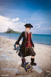 Kingdom Hearts 3 - Pirate Sora Cosplay