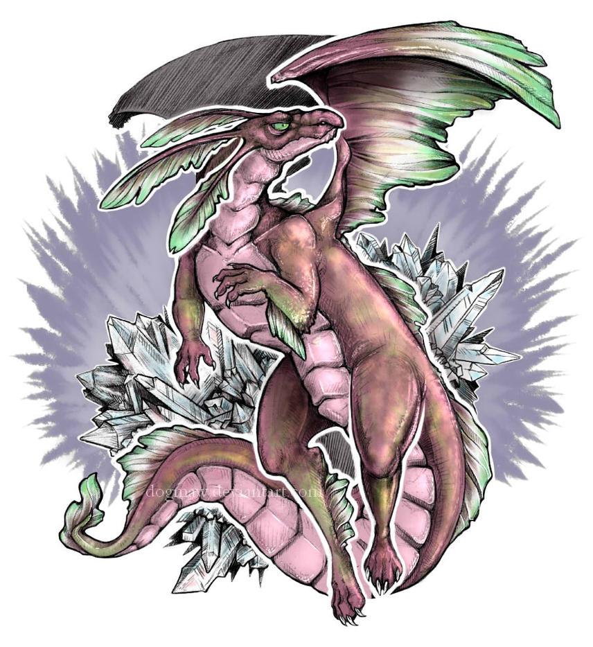 Nah - Dragon Form by DogMaw on DeviantArt