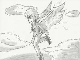 The Angel of Light. by redhatkid09