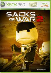 Sacks of War XBox 360 cover