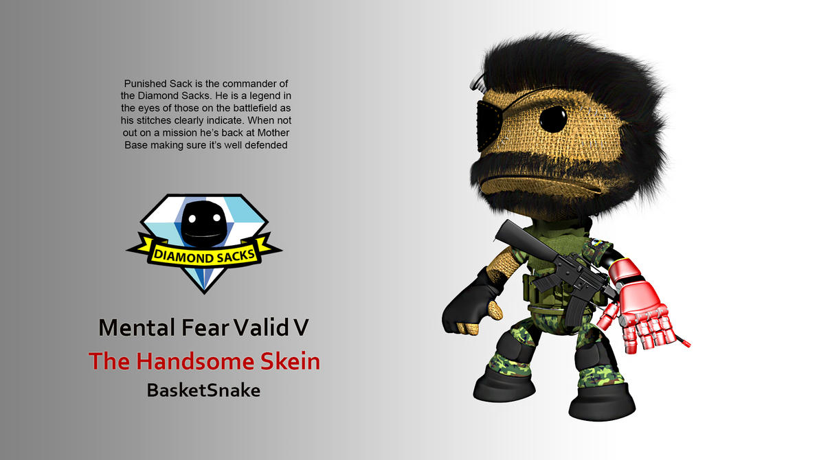Snake Sackboy - Punished Sack by BasketSnake