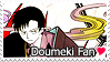 Doumeki Stamp by kathynorrisart