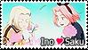 InoSaku Stamp by kathynorrisart