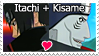 Itachi Kisame Stamp by retoxthefreak