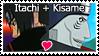 Itachi Kisame Stamp by kathynorrisart