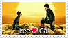 Lee Gai Stamp by kathynorrisart