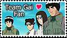 Team Gai Stamp YOSH by kathynorrisart