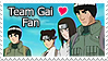 Team Gai Stamp YOSH by kathynorrisart