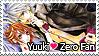 Yuuki Loves Zero Stamp 1 by kathynorrisart