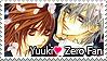 Yuuki Loves Zero Stamp 2 by kathynorrisart