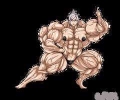 Shiraki meiko Super Muscle by zedangate