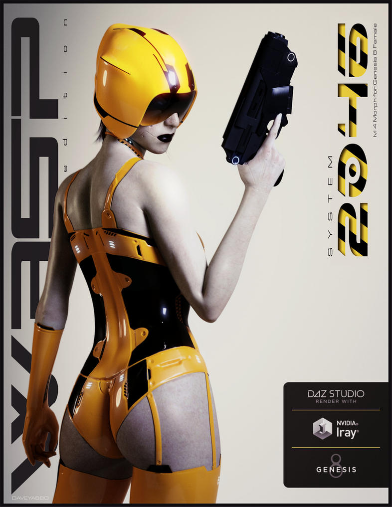 2046 - 24 Wasp by DAVEYABBO