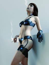 Smoking Cyborg