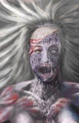 Zombie Editor Claire Howlett by BobbyDigital77