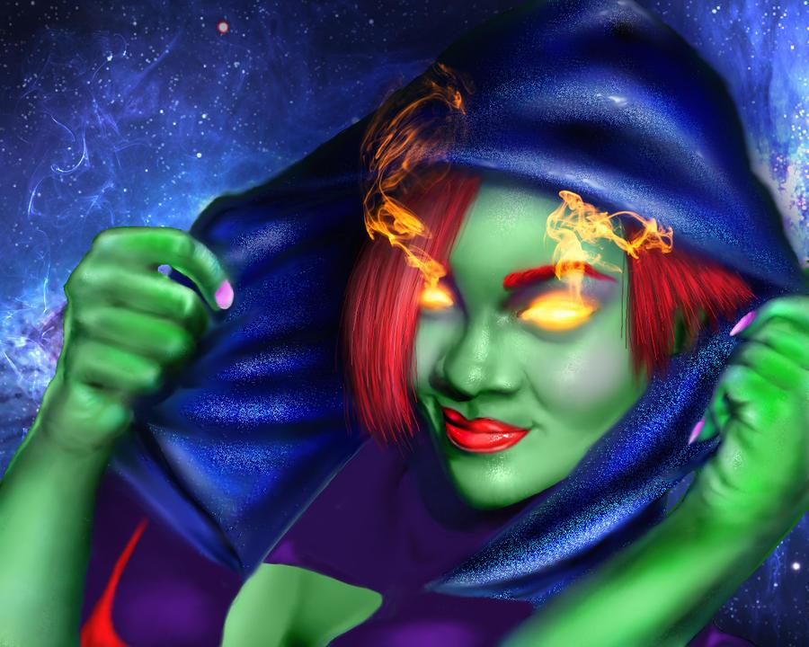 Miss Martian by BobbyDigital77