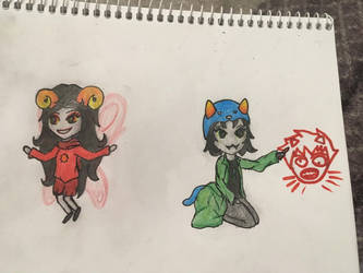 Some chibies by Bartoklin