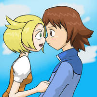 Pokemon - Let's Go on the Ferris Wheel by Kenichi-Shinigami
