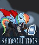 My Little Avengers: Rainbow Thor