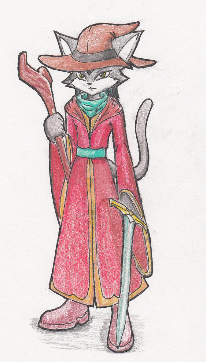 Cat Mage by Kenichi-Shinigami