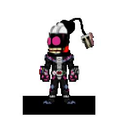 Kamen Rider Salty v2 by ChicSwag