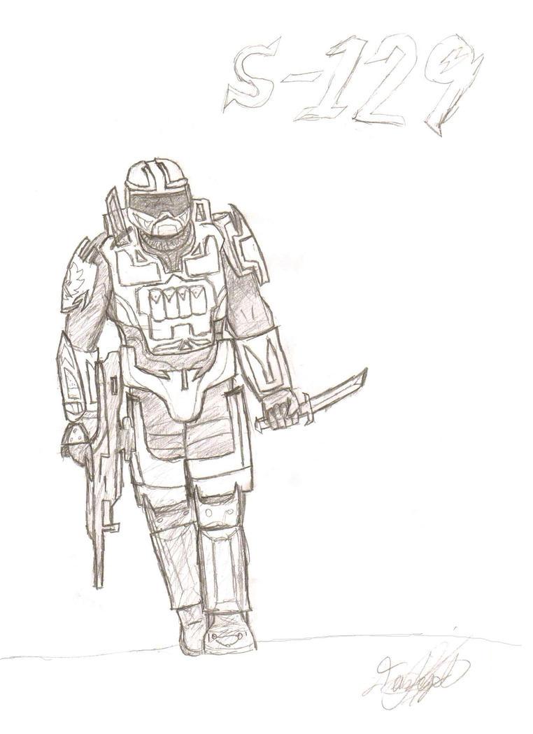 Halo Reach Spartan OC by StrangeAzian on DeviantArt