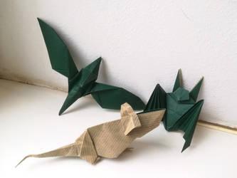 Secret Santa origami