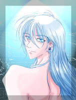 Portrait of Yue by C-h-i-b-i-N-e-k-o