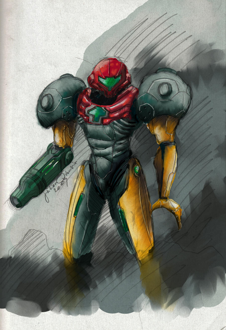 samus 3-2 by MonsieurBaron