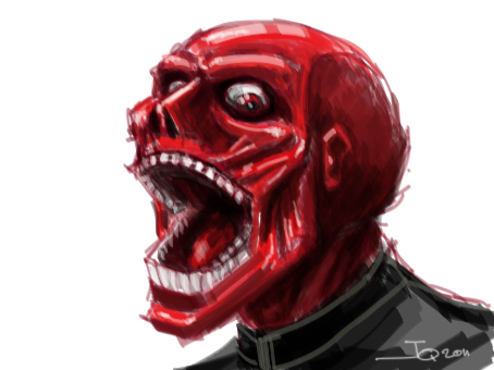 Red Skull by MonsieurBaron