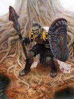 Goblin Warrior by meteorite8