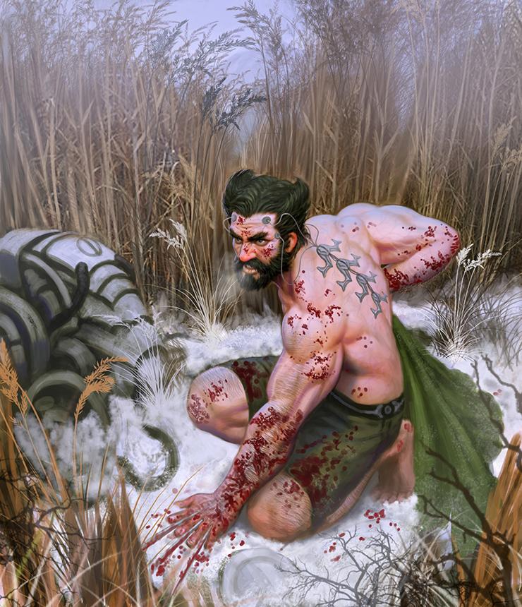 Wolverine Escape by meteorite8
