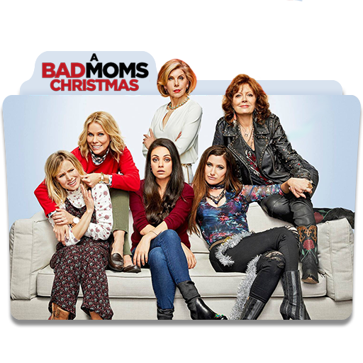 A Bad Moms Christmas 2017.A Bad Moms Christmas 2017 Movie Folder Iocn By Mohamed7799