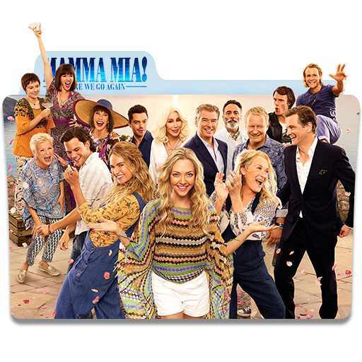 Mamma Mia Here We Go Again 2018 Movie Folder Icon By Mohamed7799 On Deviantart