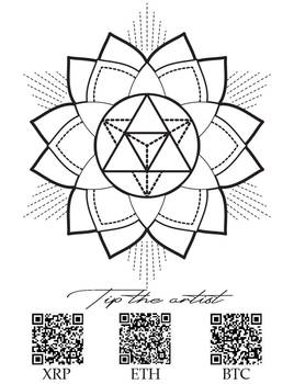 Mandala tattoo design sacred geometry3