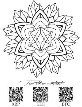 Mandala tattoo design sacred geometry4