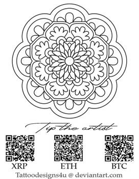 Mandala tattoo design2