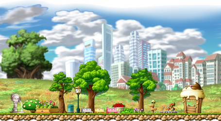Maplestory Background 1 by BlueTailz