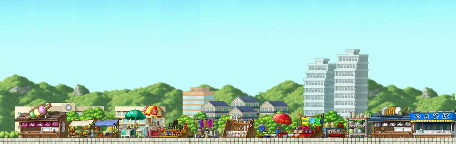 Maplestory Background 6 By BlueTailz