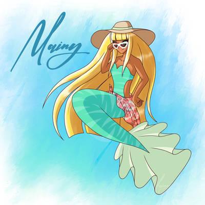 [Mermay 2021] - #2 Summer mermaid