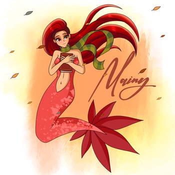 [Mermay 2021] - #3 Autumn mermaid