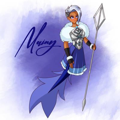 [Mermay 2021] - #4 Winter mermaid